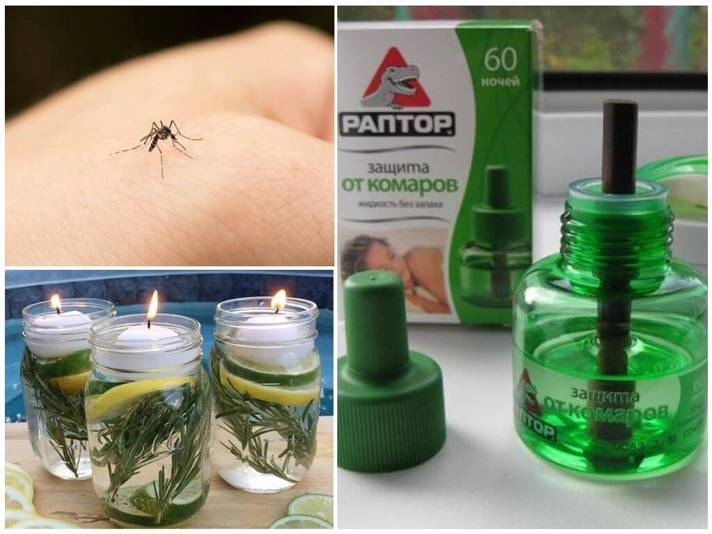 Как самой сделать средство от комаров 530