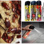 Спреи Комбат от тараканов