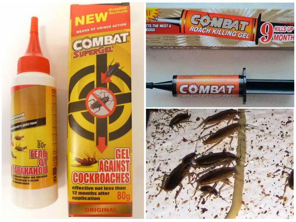 Гель Комбат от тараканов