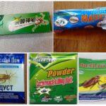 Мелки и порошки от тараканов