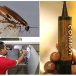 Применение геля от тараканов