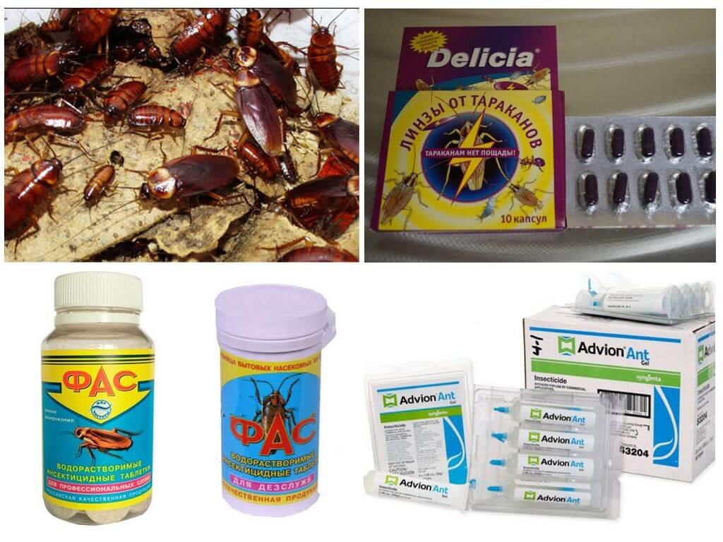 Таблетки против насекомых-вредителей