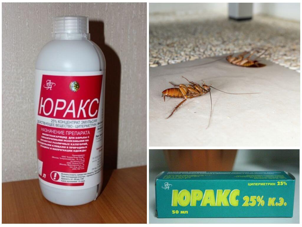 Средство Юракс от тараканов