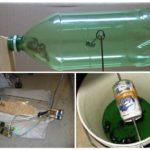 Ловушки из бутылки и ведра