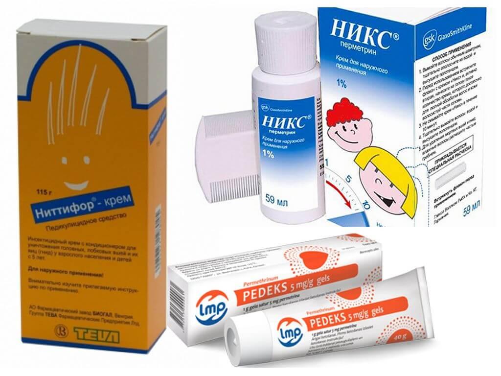 Крема от паразитов для детей