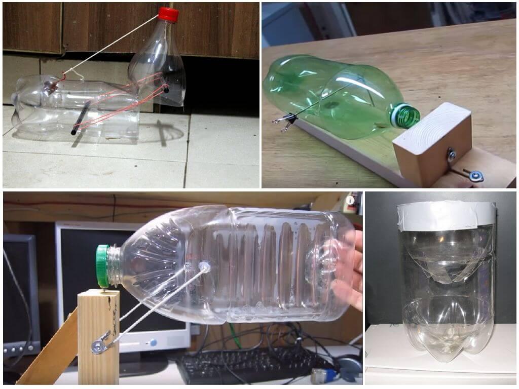 Ловушка для грызунов из пластиковой бутылки
