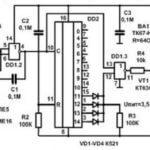 Электрическая схема отпугивателя грызунов