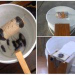 Ловушка для мышей из ведра с водой