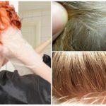 Вши на окрашенных волосах