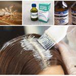 Воздействие на паразитов краски для волос
