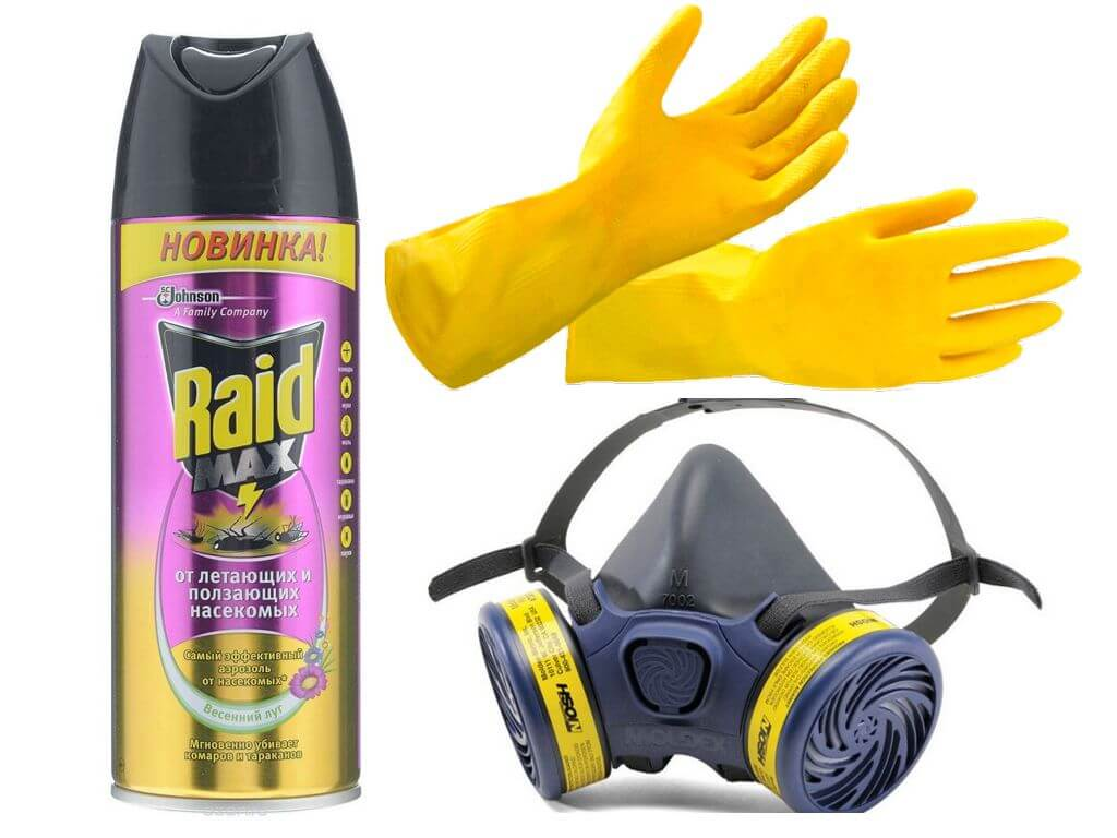 Аэрозоль Raid для борьбы с насекомыми