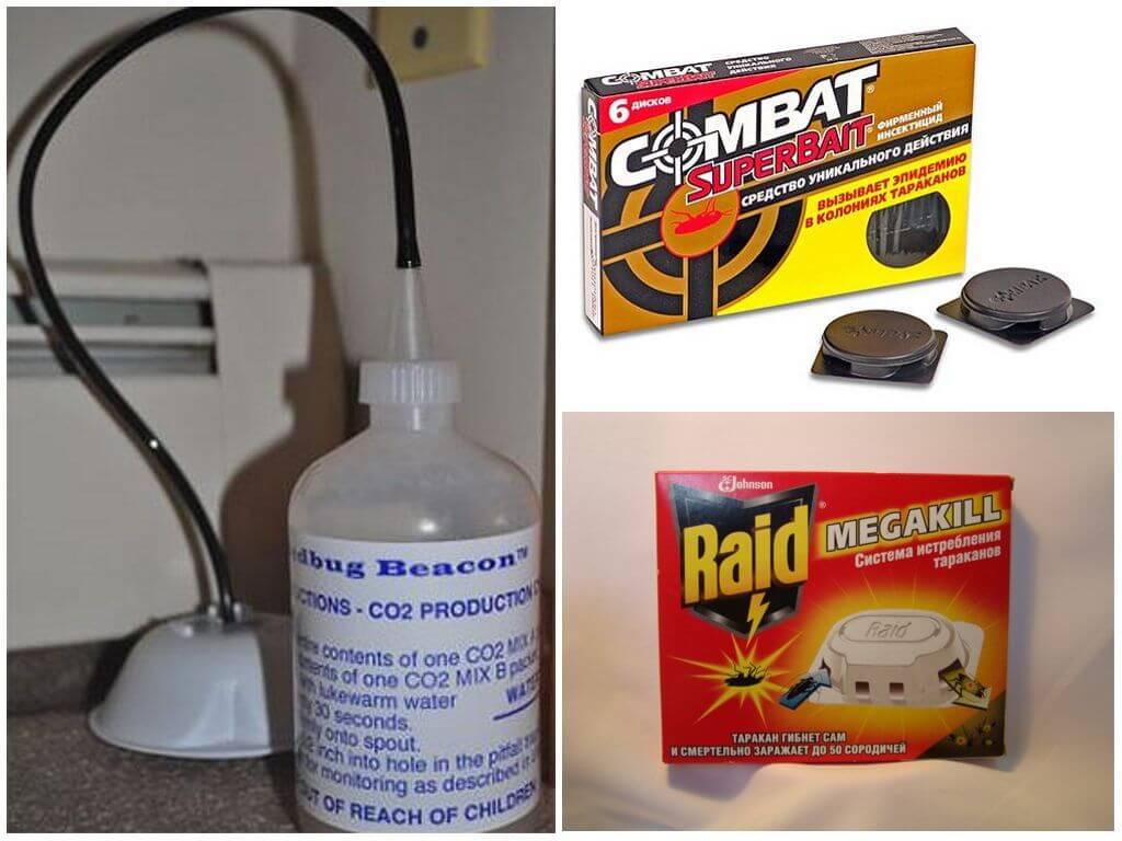 Химические ловушки для борьбы с паразитами
