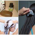 Мыло и вычесывание волос гребнем