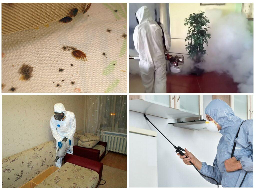 Методы обработки помещения