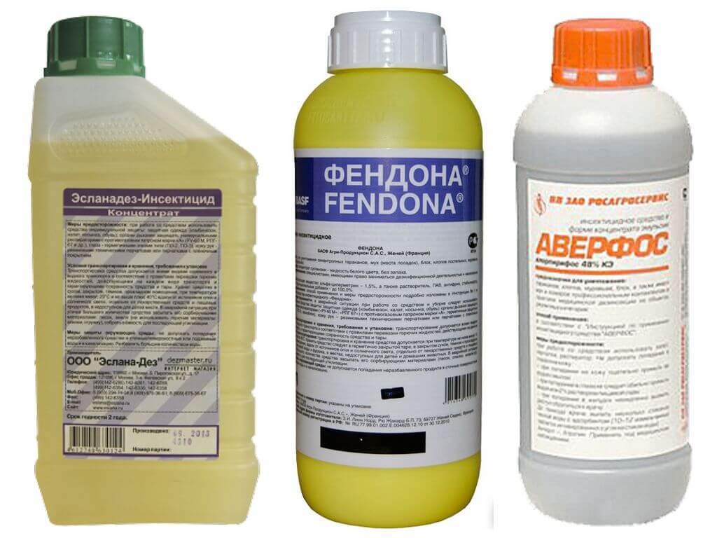 Препараты для дезинсекции