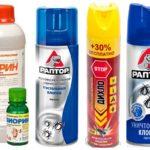 Препараты для уничтожения насекомых