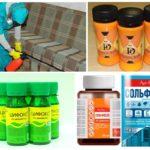 Препараты для обработки помещения от блох