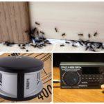 Ультразвуковые отпугиватели муравьев