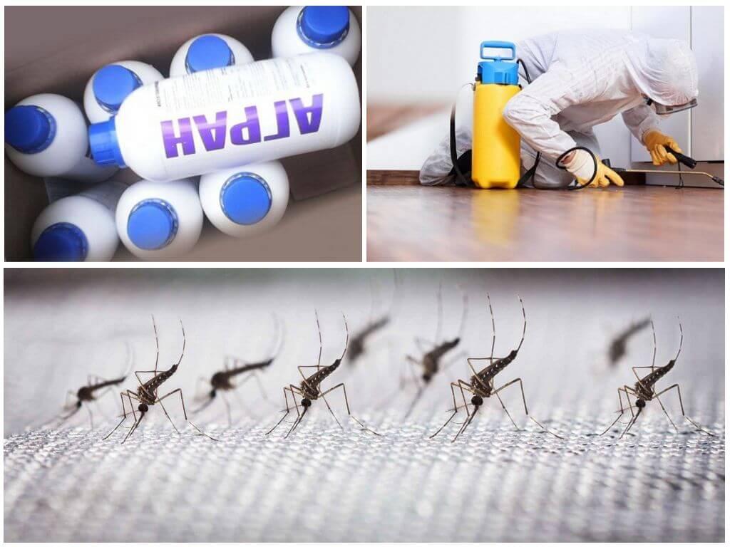 Обработка Аграном для защиты от комаров