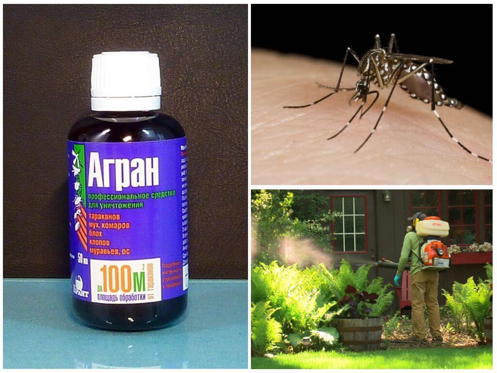 Агран против летающих насекомых