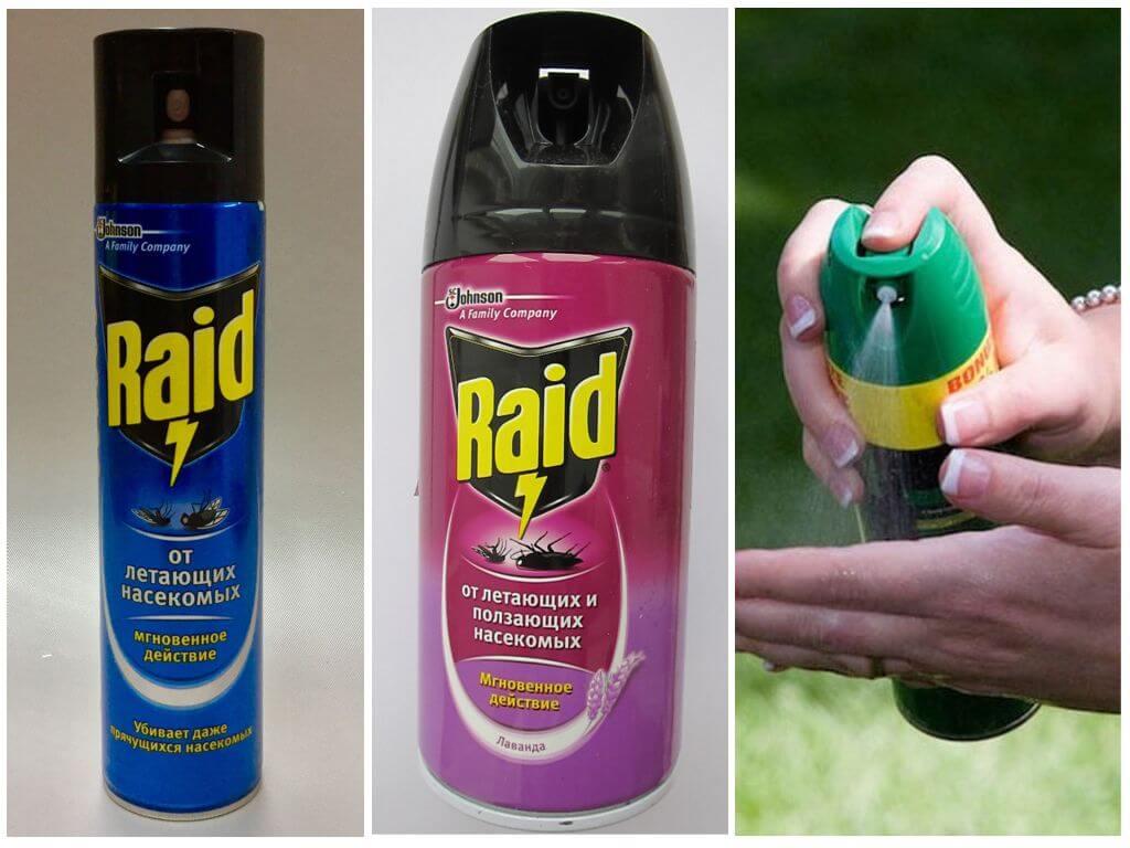Аэрозоли Рейд от комаров