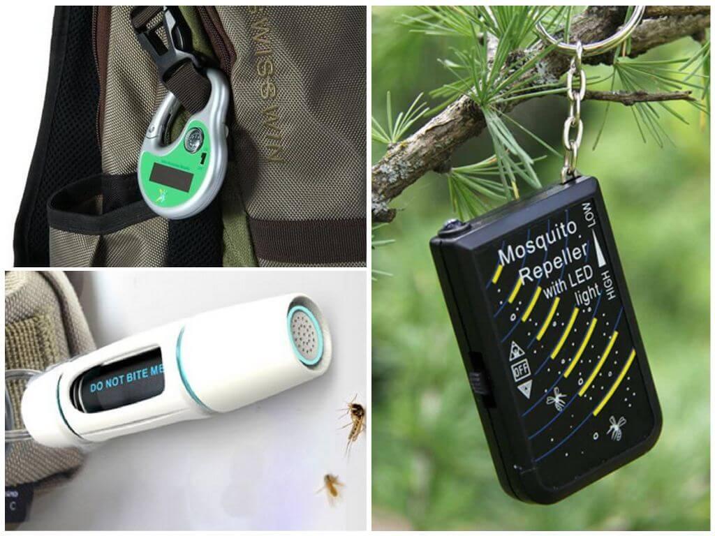 Брелки-отпугиватели комаров