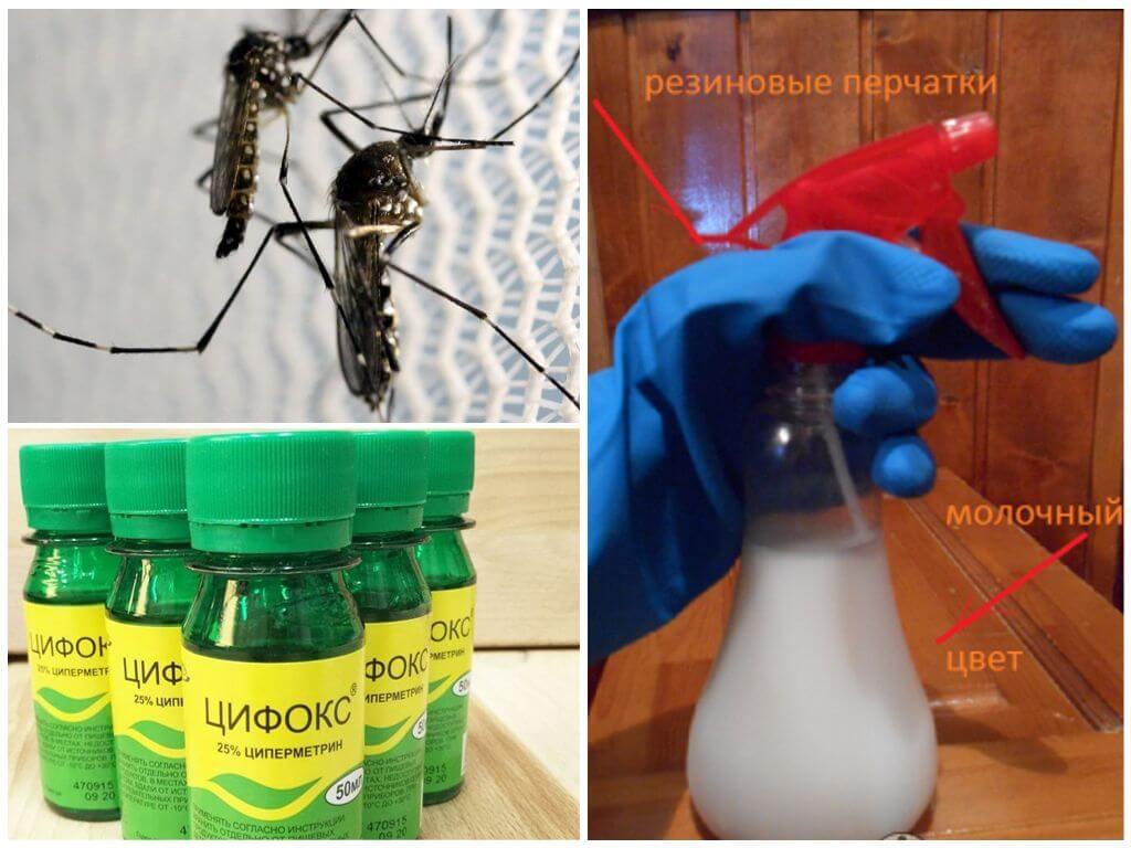 Применение Цифокса для защиты от комаров