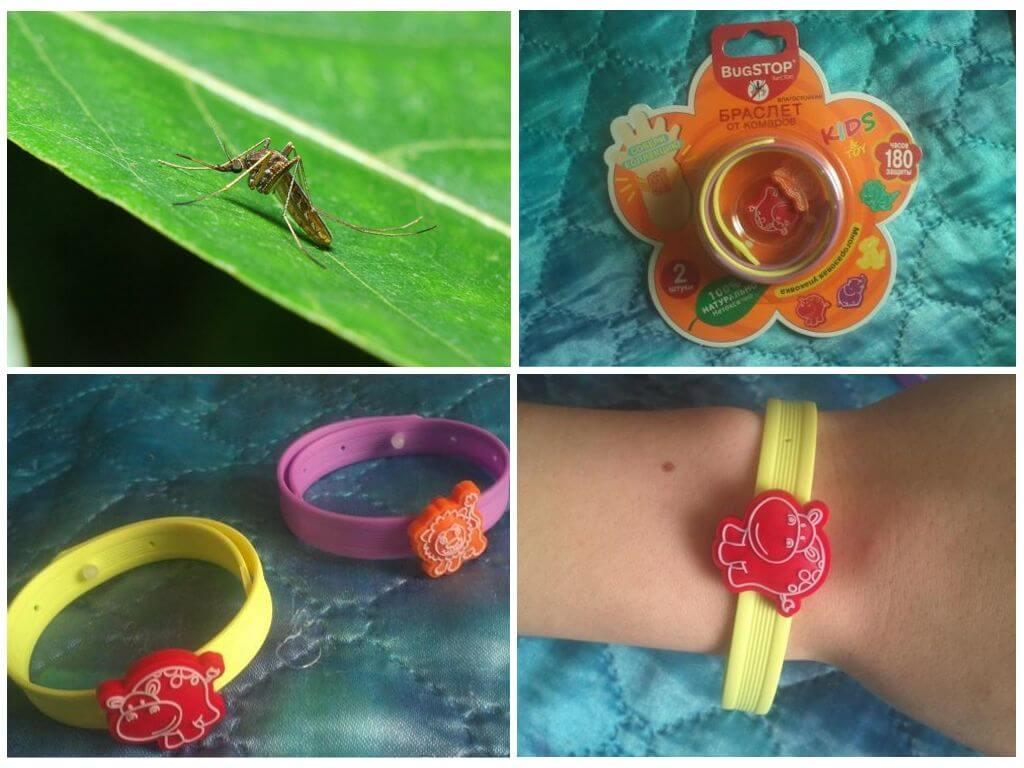 Детский браслет для защиты от насекомых