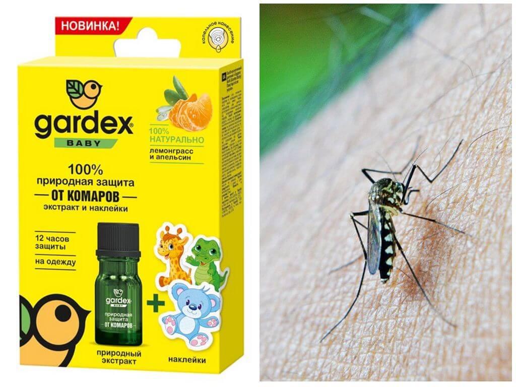 Наклейки для защиты от насекомых
