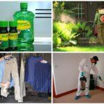 Обработка средством Медилис Ципер от комаров