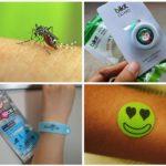 Наклейки и браслеты для защиты от насекомых