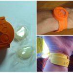Применение браслета Гардекс для защиты от насекомых