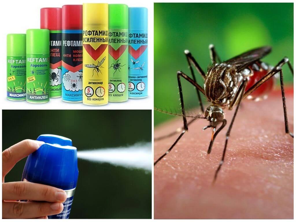 Средства Рефтамид от комаров