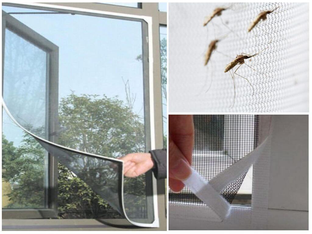 Сетка на окно от комаров