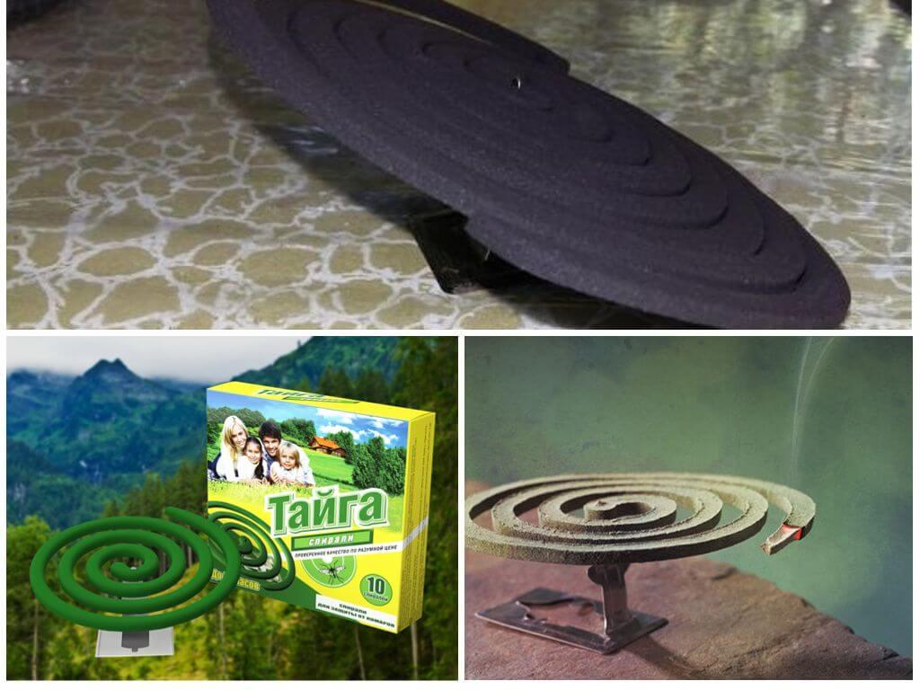 Спираль Тайга для защиты от насекомых