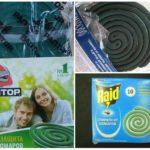 Спирали для защиты от комаров