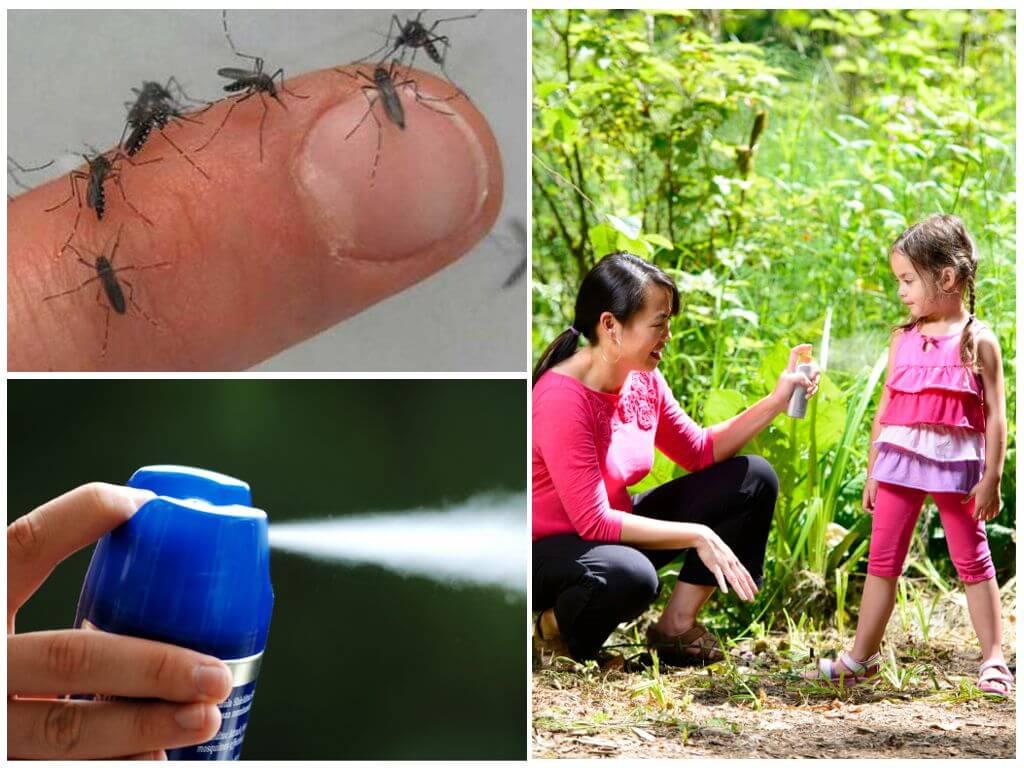 Детские средства от комаров