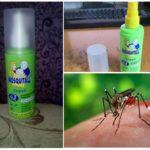 Спрей Москитол от насекомых