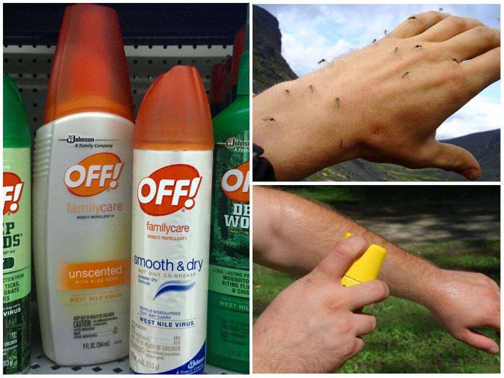 Средства для защиты от комаров