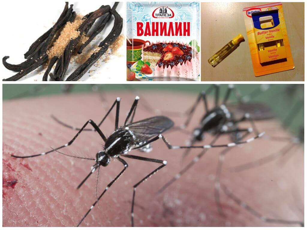 Ванилин от комаров