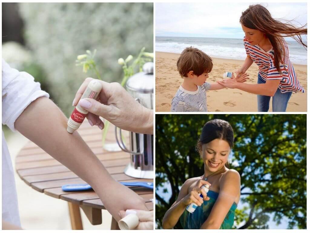 Средства защиты от комаров и клещей