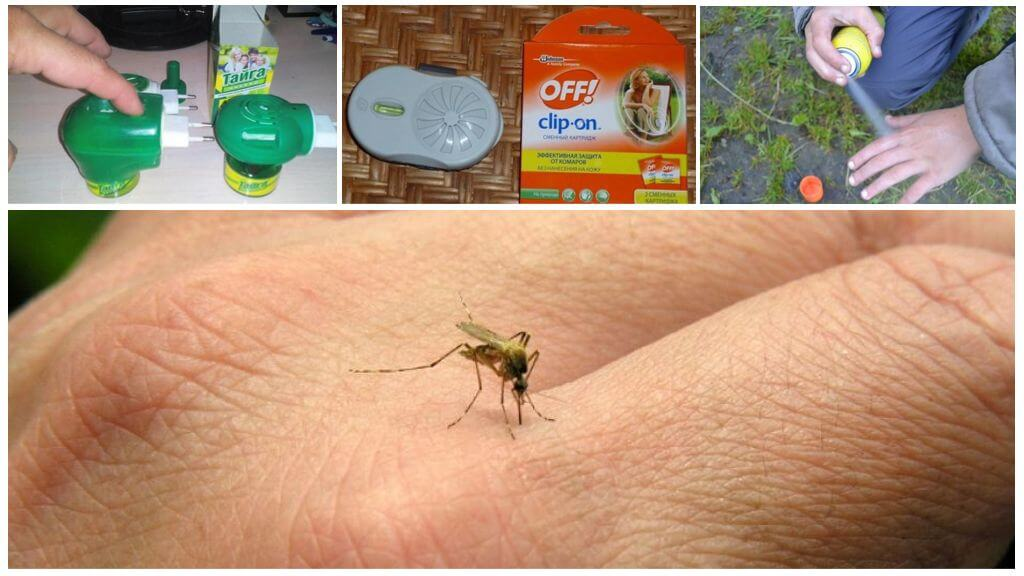 Магазинные средства от насекомых