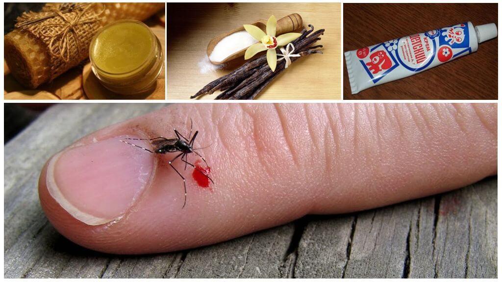 Ванильная мазь против комаров