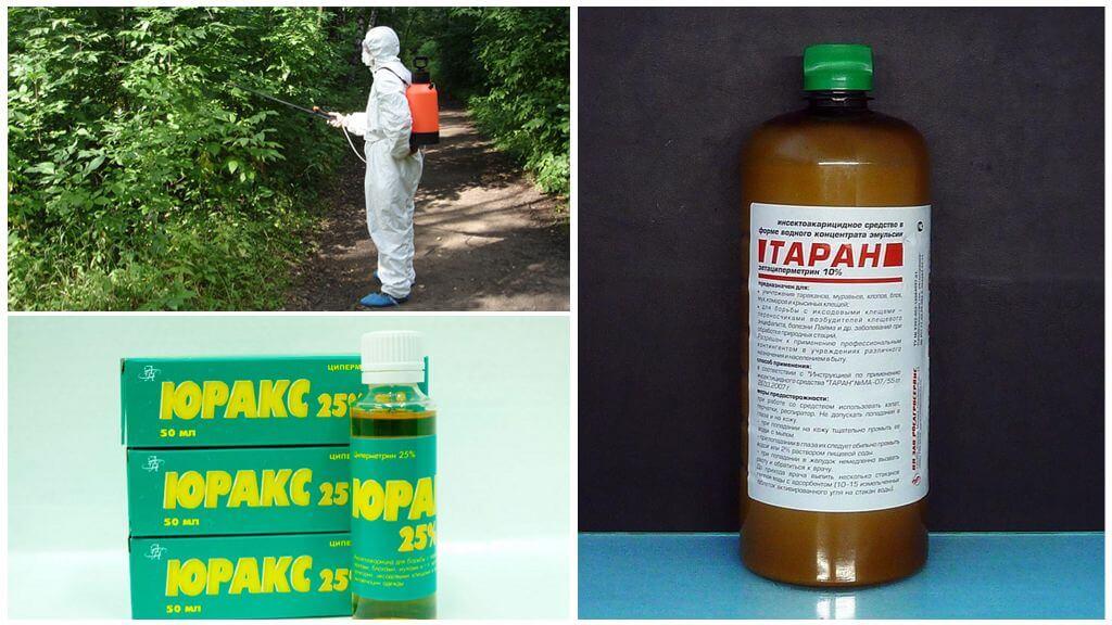 Химические средства для борьбы с комарами