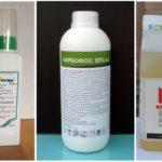 Химические препараты от гусениц на калине