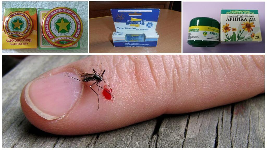 Гомеопатические препараты при укусах комаров