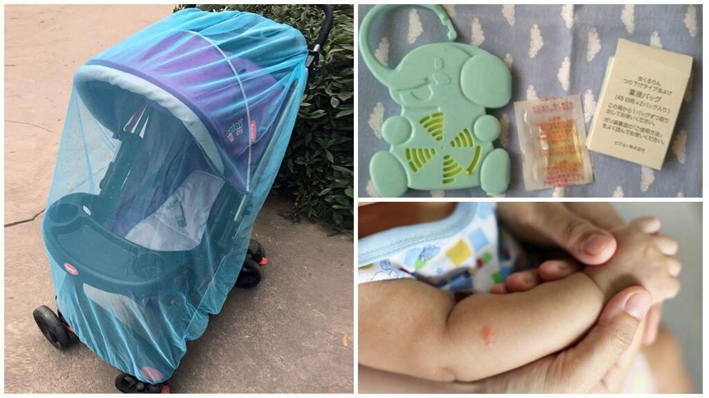 Методы защиты грудничка от комаров