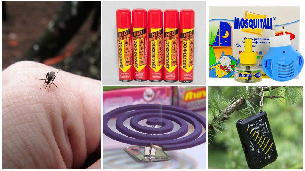 Современными средства от комаров
