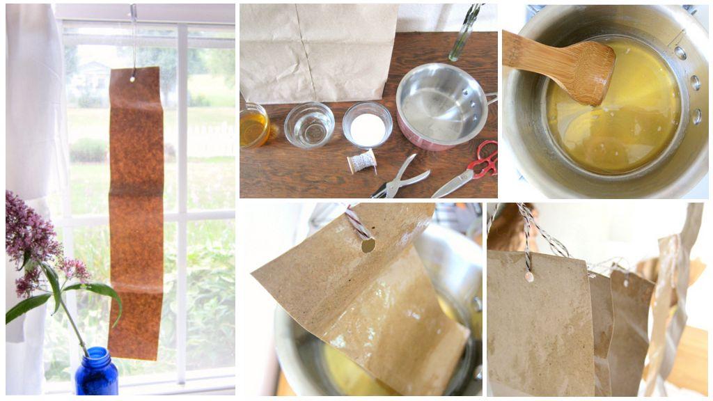 Изготовление липучки для мух