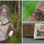Защита от лосиной мухи